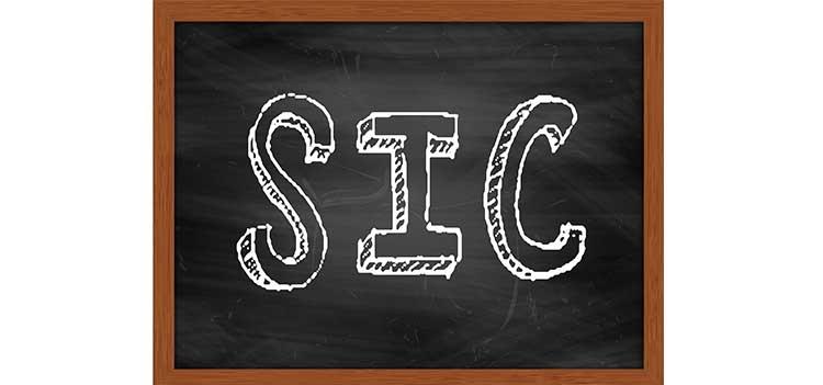SIC Code Mailing List